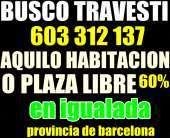 Plaza libre o aquilo habitacion solo para travesti llamame 603 312 137 las 24 h