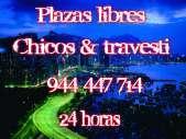 Bilbao plaza libre para chicos y travestis