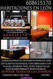 Habitaciones en leon habitacion totalmente equipadas para relax centro