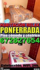 Habitacion relax ponferrada 672827654