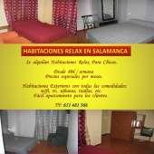 Habitaciones relax salamanca centro 3468235682346