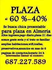 Reseva tu plazas estamos en almeria y para las rozas plazas disponible con buenas clientelas y con buenos ingresos la casa di