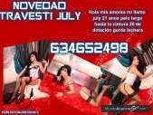 July travesti cachonda