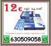 12 caja de 144 preservativos unilatex en maxgomax com