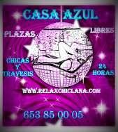 Plazas libres todo el año para chicas y travestis 653850005