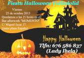 Fiesta halloween valladolid tlf 676586837 viernes 25 de octubre 2013
