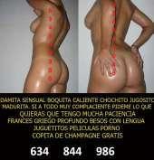 Madurita sensual guapa viciosa 30 euros en Toledo