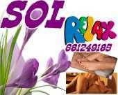 Masajista profesional deportiva y relax alivia tu cuerpo