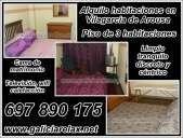 Alquilo habitaciones en vilagarcia de arousa galicia