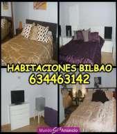 Bilbao se alquilan habitaciones en piso relax de lujo cent
