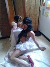 Bailarina travesti