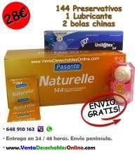 Oferta preservativos pasante lubricante y bolas