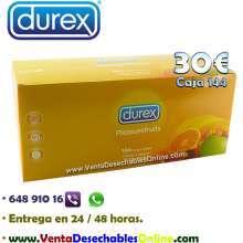 Condones marca durex