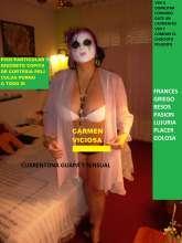 Carmen madurita pechugona besucona guarrilla en la cama 30 e en Toledo Capital estacion de autobuses