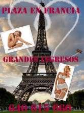 Plaza en francia para chicas bellas 4p1c