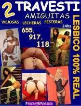 Travesti dos amiguitas lesbico 100 real 24hs novedad