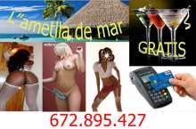 Nuevas chicas el caribe relax disponible las 24horas en Ametlla de Mar, Tarragona urbanización 3 calas