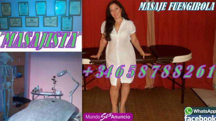 Masajes profesional chica masajista