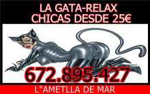 Casa relax la gata 3 chicas desde 25 en Ametlla de Mar, Tarragona l
