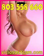 Quieres gozar conmigo sexo telefonico 803 558 660 espanola