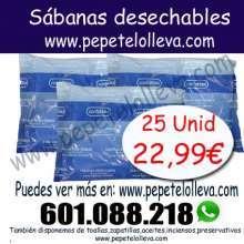25 sabanas desechables por 22 99 en pepetelolleva com