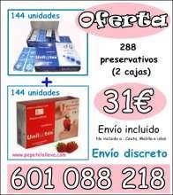 OFERTA DOS CAJAS 144 PRESERV 32€