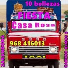 CASA ROSA ***✿✿ CARGADAS DE FANTASIAS Y FIESTA 24 HORAS