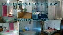 Habitaciones disponibles albacete centro