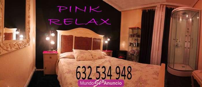 Pink relax 4 chicas y una travesti