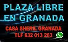Plaza libre en granada capital pagamos 60