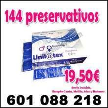 Oferta 144 condones 19 50 envio discreto