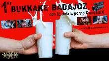 Bukkake con candela x