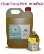 Aceite de masaje sin olor 5 litros regalo bote de medio en