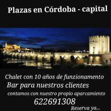 Plazas en cordoba capital