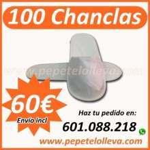 100 zapatillas desechables alta calidad 60