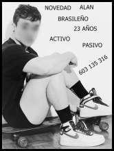 Brasileño alan novidad 603 135 316