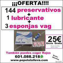 Pack intimo para independientes 25 144 preservativos