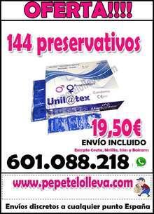 Oferta preservativos unilatex para profesionales