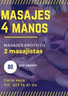 Masajes a 4 manos en Madrid Provincia vallecas
