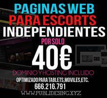 Paginas web para escort independientes por 40