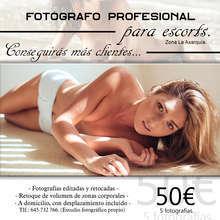 Fotografo profesional para escorts