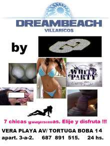 Dreambeach musica chicas fiesta blanca 24 hs