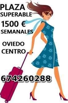 La mejor plaza de asturias 1500 euro semanales
