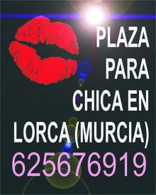 Plaza para chica en lorca 625676919