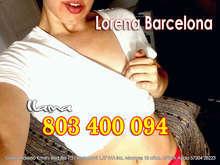 Hola soy lorena de barcelona 26 a ntilde os 803 400 094