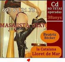 Lloret de mar travesty cd catalana masajista