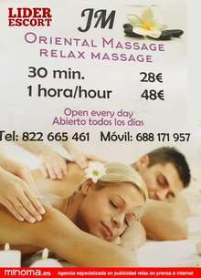 Jm oriental massage relax massage