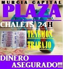 Plaza 1 800 2 200 semanal murcia