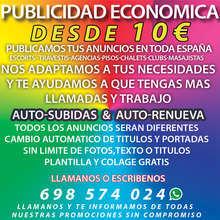 Publicidad economica en las webs mas importates de espana