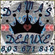Damas deluxe 603671816 llamanos y goza